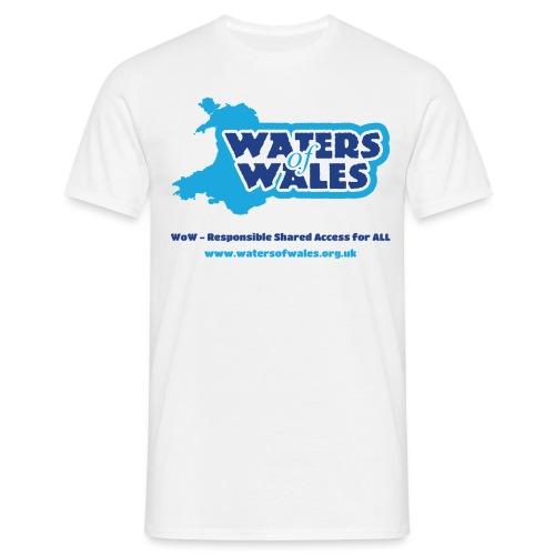 Wow Logo_tshirt - Men's T-Shirt