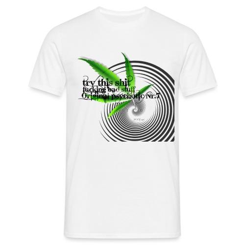 hanf gif - Männer T-Shirt