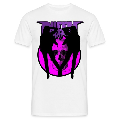 QM Pink Girls - T-shirt herr