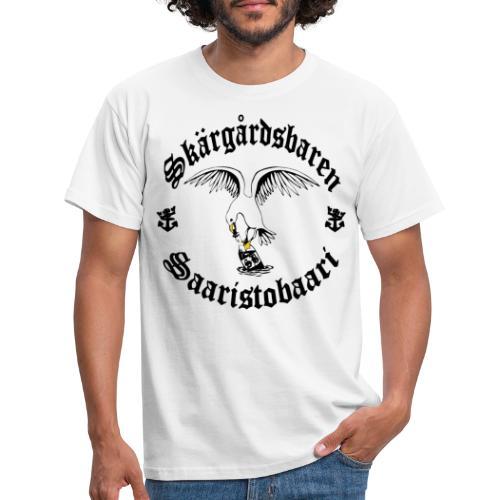 Black logo - Miesten t-paita