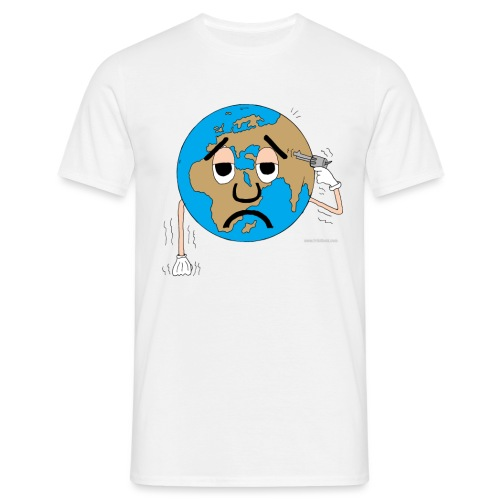 mundo suicida world - Camiseta hombre