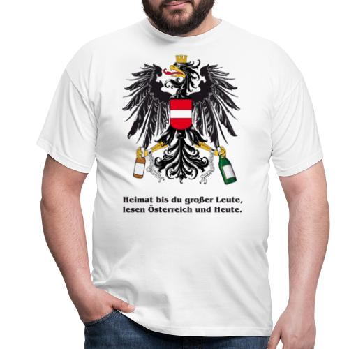 Heimat bst du grosser Leute - Männer T-Shirt