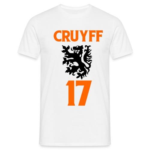 70 s football god Cruyff - Men's T-Shirt