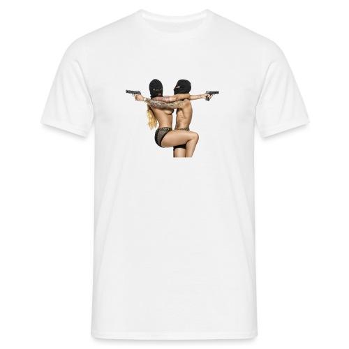 Bonnie & Clyde Love - Männer T-Shirt