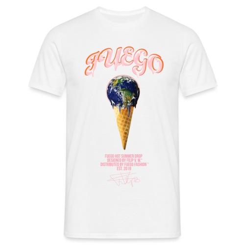 FUEGO ICE CREAM - Männer T-Shirt