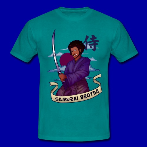 Samurai Brotha - Men's T-Shirt