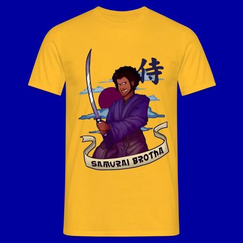 Samurai Brotha - Men's T-Shirt