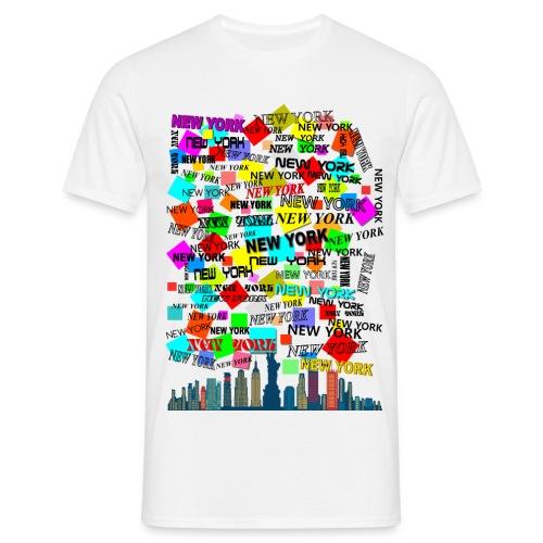 ny colors ny 03 - Maglietta da uomo