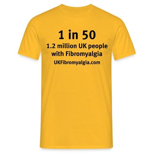 1in50 - Men's T-Shirt