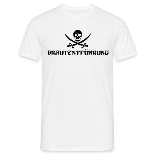 Brautentführung Piratenflagge Junggesellinnen - Männer T-Shirt
