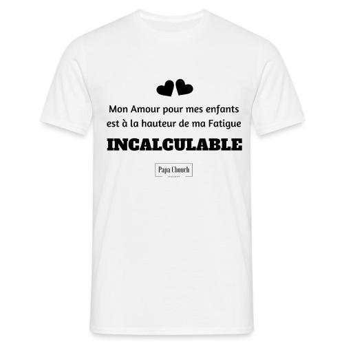 Mon Amour pour mes enfant - T-shirt Homme