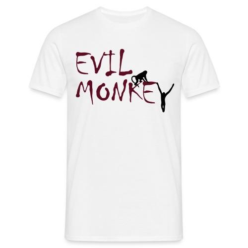 evil monkey tee - Men's T-Shirt