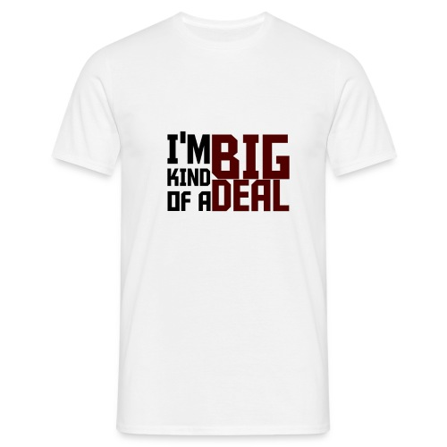 big deal png - Men's T-Shirt