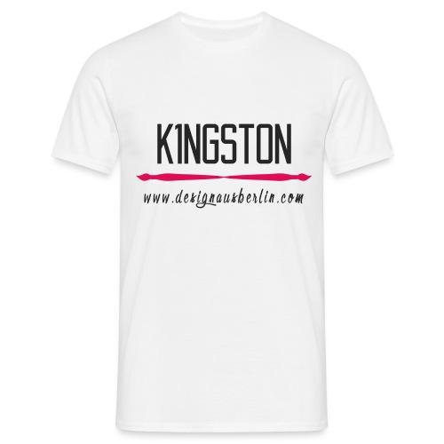 k1ngston-designausberlin1 - Männer T-Shirt