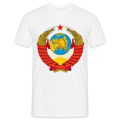 UdSSR Wappen / Герб СССР - Männer T-Shirt