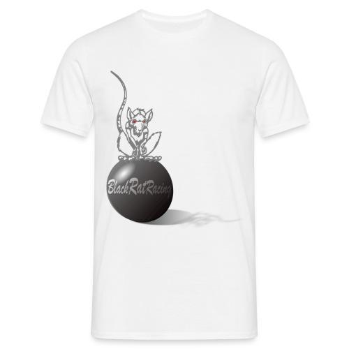 Black Rat Racing Sphere - Men's T-Shirt