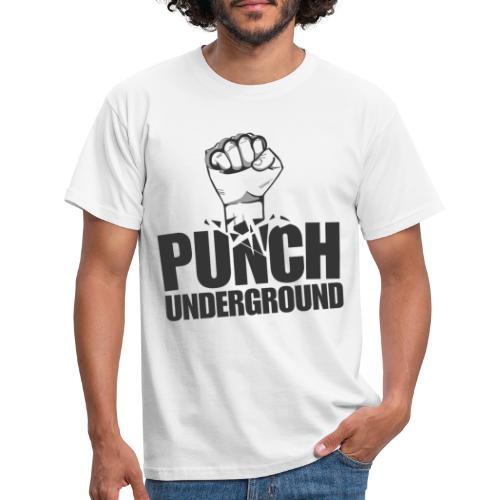 Punch Underground Black - Männer T-Shirt