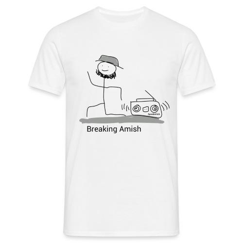 Breaking Amish transparent png - T-skjorte for menn