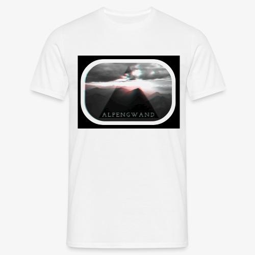 zugspitze alpengwand crac - Männer T-Shirt