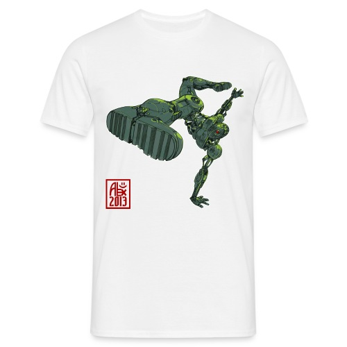 robot spreadshirt - T-shirt Homme