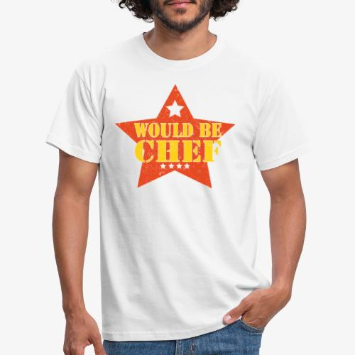 Would Be Chef - Mannen T-shirt