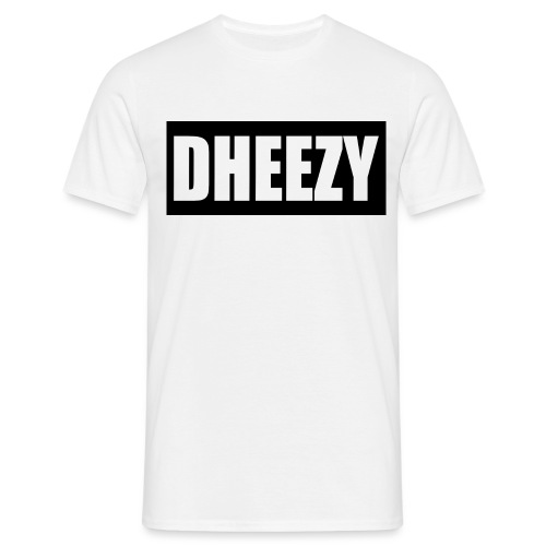 DHEEZY_logo_1 - Men's T-Shirt