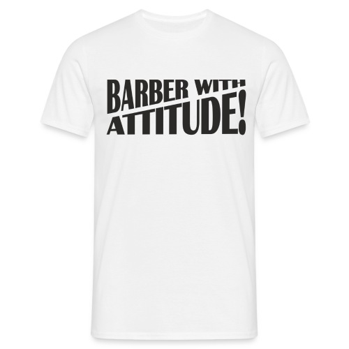Barber T-Shirt logo 6 - Men's T-Shirt