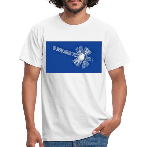 teknisk feilstor - T-skjorte for menn