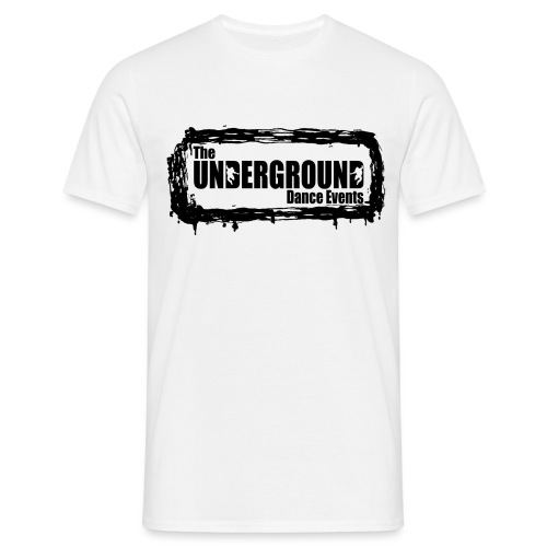 The Underground Black - Men's T-Shirt