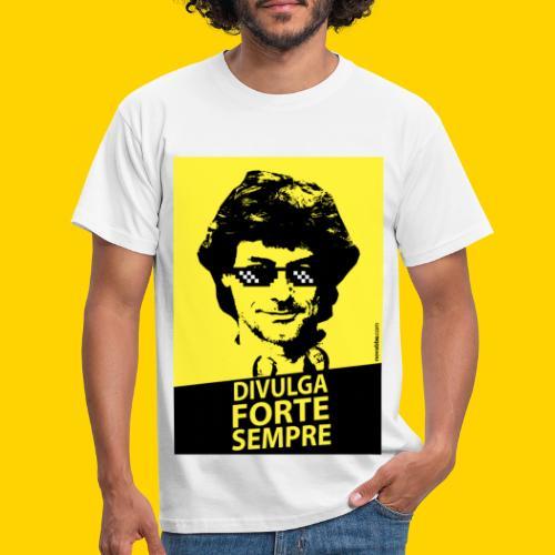 DIVULGA FORTE SEMPRE - Maglietta da uomo