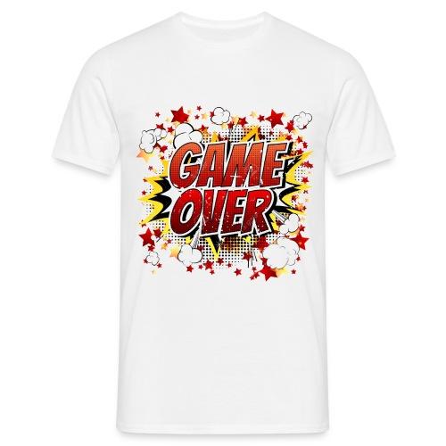 42029218 game over co mic la expresio n de dibujos - Camiseta hombre