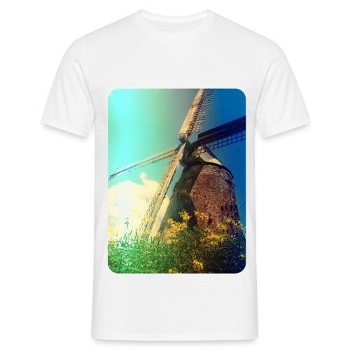 windmill jpg - Mannen T-shirt