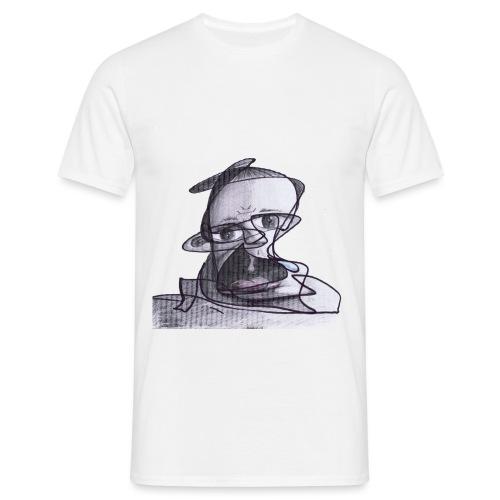 Pilot beim Absturz png - Männer T-Shirt