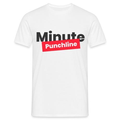 Minute Punchline - Logo Noir - T-shirt Homme