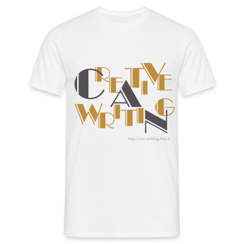 cw logo black - Men's T-Shirt