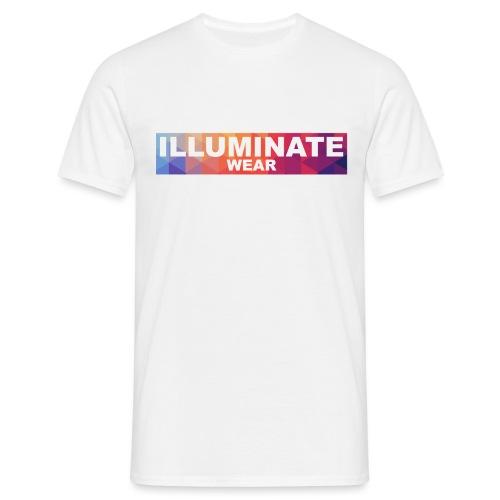 Illuminate Rainbow Box - Men's T-Shirt