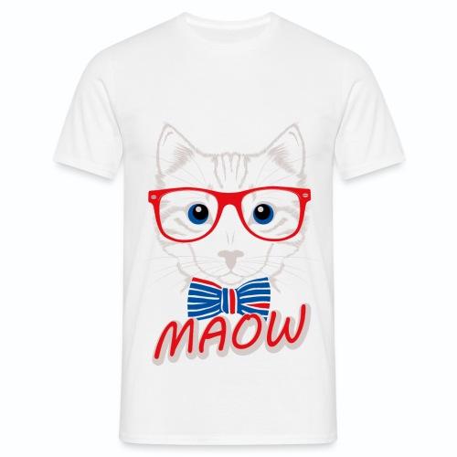 Bleu Blanc Rouge Chat Français g - T-shirt Homme