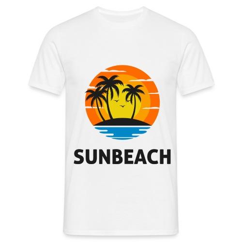 Sun beach valley - T-shirt Homme