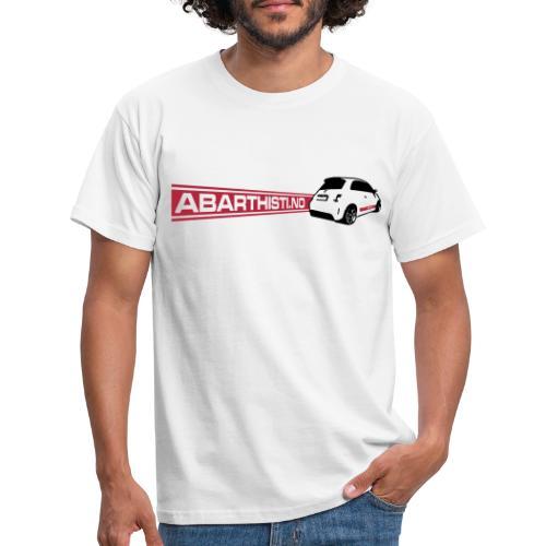 Abarthisti and 500 - T-skjorte for menn