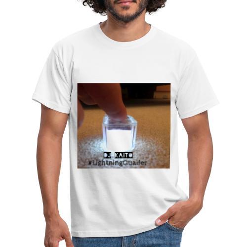 lightning quader cover - Men's T-Shirt