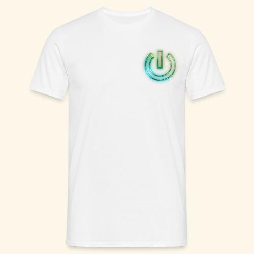 JJAMovies Logo Power - Men's T-Shirt