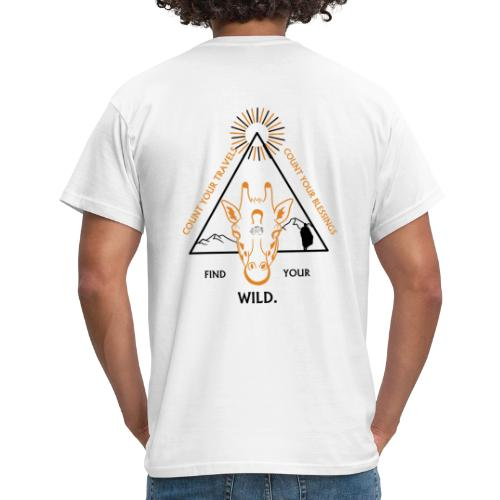 Find your WILD. - Mannen T-shirt