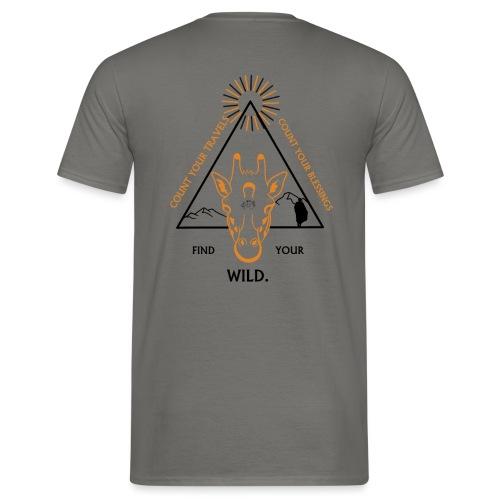 Find your WILD. - Men's T-Shirt
