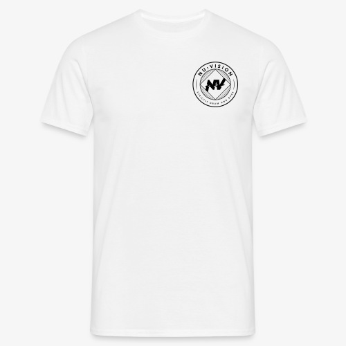 Logo Rund - Männer T-Shirt