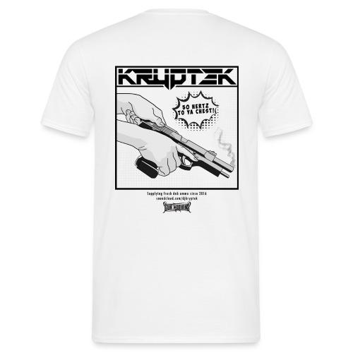 '50 Hertz' White - Men's T-Shirt