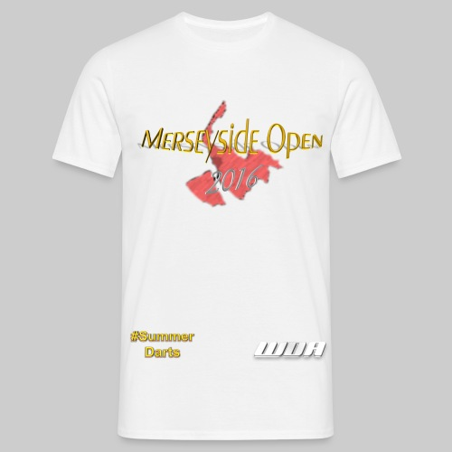 msopen 2016 plain logo - Men's T-Shirt