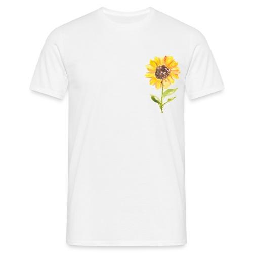 Sonnenblume Sunflower - Männer T-Shirt