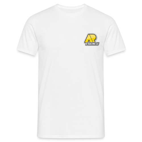 A Racing logo - T-shirt herr