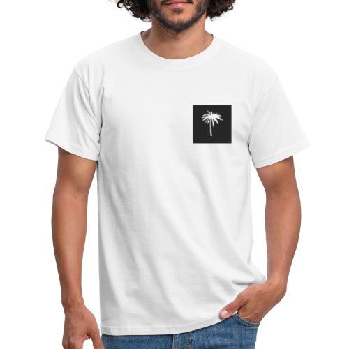 palm black box - T-skjorte for menn