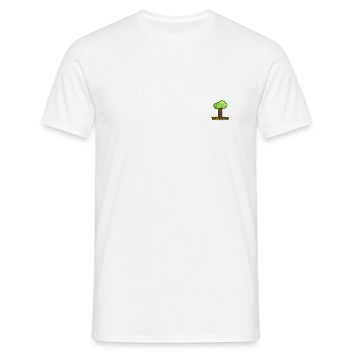 Treeburgers logo with text - Herre-T-shirt
